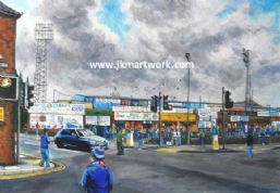 Hand Painted original of saltergate gtm